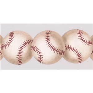 York Wallcoverings Baseball Wallpaper Border