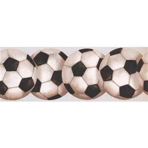 York Wallcoverings Soccer Ball Wallpaper Border