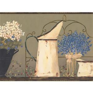 York Wallcoverings Lavender and Jug Wallpaper