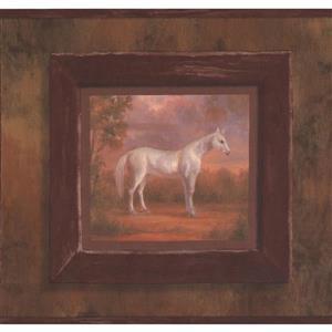 York Wallcoverings Horse Wallpaper Border