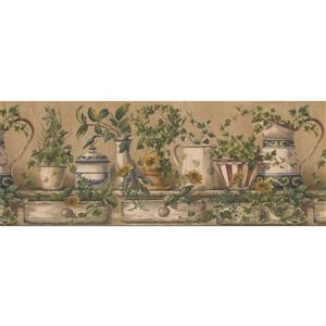 Retro Art Vintage Porcelain Vase Wallpaper