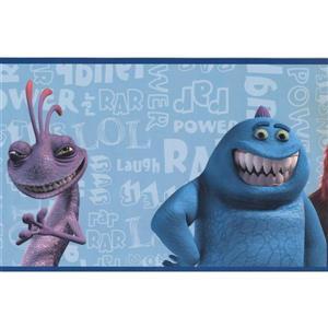 York Wallcoverings Disney Monsters Inc Wallpaper Border
