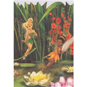 York Wallcoverings Disney Fairies Tinker Bell - Multicoloured
