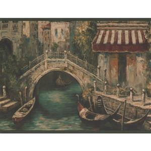York Wallcoverings Venice Canal Wallpaper Border