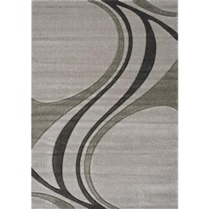 Kalora Hudson Abstract Rug - 5' x 8' - Gray