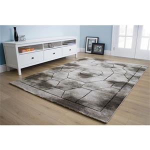 Kalora Hudson Geometric Rug - 8' x 11' - Gray