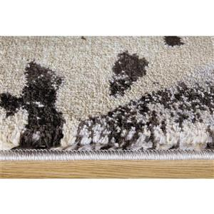 Kalora Platinum Abstract Rug - 5' x 8' - Beige