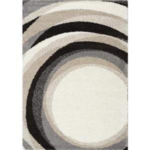 Kalora Mona Geometric Rug - 8' x 11' - Cream