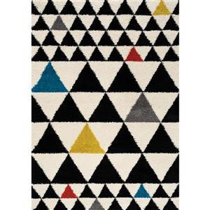 Kalora Maroq Geometric Rug - 5' x 8' - Cream