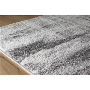 Kalora Focus Abstract Rug - 8' x 11' - Gray