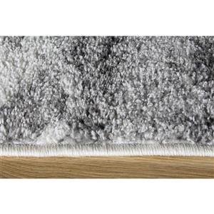 Kalora Focus Abstract Rug - 5' x 8' - Gray