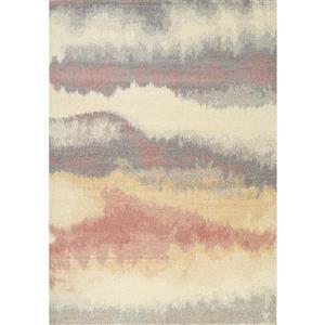 Kalora Focus Abstract Rug - 5' x 8' - White