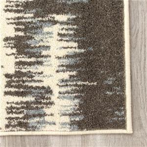 Kalora Casa Stripe Rug - 8' x 11' - Beige/Cream