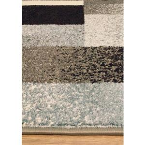 Kalora Casa Geometric Rug - 8' x 11' - Gray