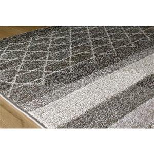 Kalora Camino Geometric Rug - 8' x 11' - Gray