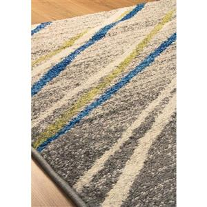 Kalora Camino Stripe Rug - 8' x 11' - Gray