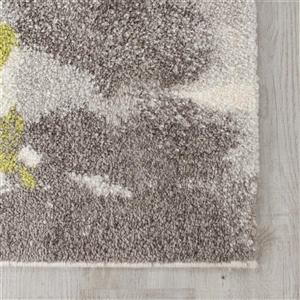 Kalora Camino Abstract Rug - 8' x 11' - Black