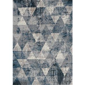 Kalora Breeze Geometric Rug - 8' x 11' - Blue