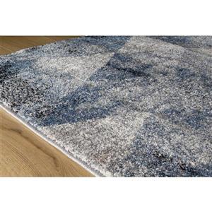 Kalora Breeze Geometric Rug - 5' x 8' - Blue