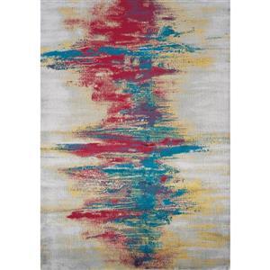 Kalora Antika Abstract Rug - 7' x 10' - Gray