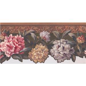 York Wallcoverings Bloom Wallpaper Border - 15-ft x 10-in