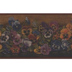 "Chesapeake Flowers Wallpaper Border - 15' x 7"""