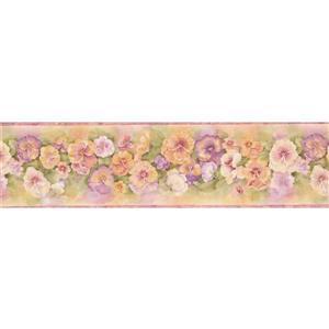 """Chesapeake Floral Wallpaper Border - 15' x 6.25"""" - Multicolour"""