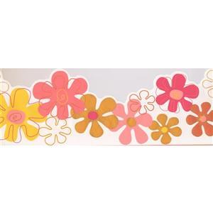 York Wallcoverings Flowers for Kids Wallpaper Border - 15-ft x 8.75-in