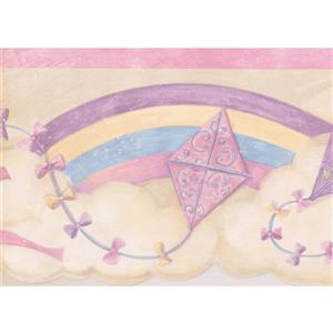 Norwall Kites in the Clouds Wallpaper Border - 15' x 7.25-in