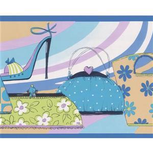 Norwall Women Fashion Wallpaper Border - 15' x 7-in- Multicolour
