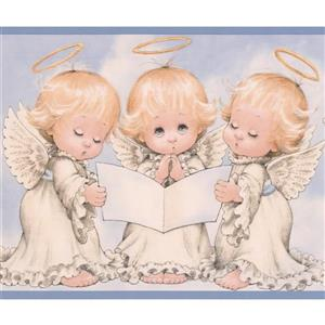 "Chesapeake Baby Angels Wallpaper Border - 15' x 6"""