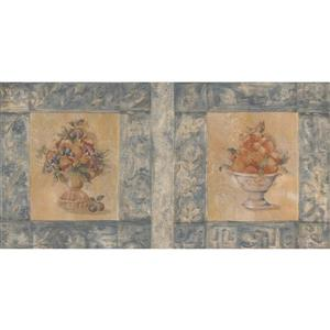 Norwall Framed Pictures Wallpaper Border - 15' x 7-in- Multicolour