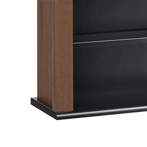 Prepac Furniture Triple Wall Mounted Multimedia Storage