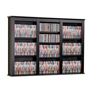 Prepac Furniture Triple Wall Mounted Multimedia Storage