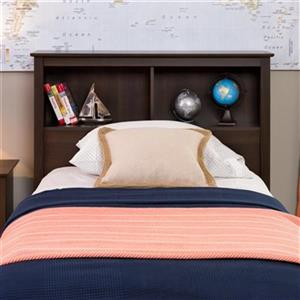 Prepac Furniture Bookcase Headboard,ESH-4543