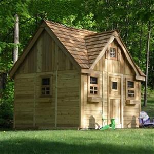Outdoor Living Today LCP99 9-ft x 9-ft Cedar Lauren's Cottag