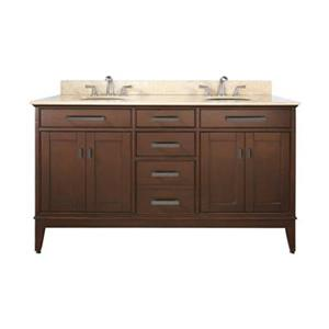 Avanity Madison 60-in Bathroom Vanity with Countertop and Un