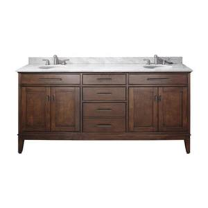 Avanity Madison 72-in Bathroom Vanity with Countertop and Un