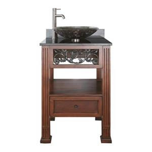 Avanity Napa 24-in Bathroom Vanity,NAPA-VS24-DC-VE