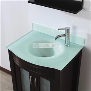 Spa Bathe 24-in ELVA Series Bathroom Vanity,EV24CH-MG