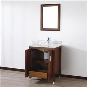 Spa Bathe 28-in JAQ Series Bathroom Vanity,JA28CC-CWM