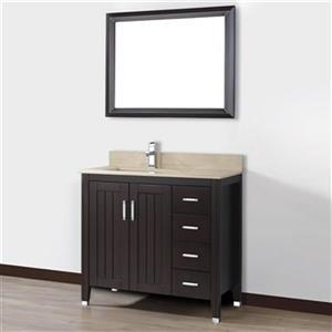 Spa Bathe 36-in JAQ Series Bathroom Vanity,JA36CH-GB