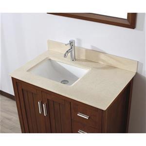 Spa Bathe 36-in JAQ Series Bathroom Vanity,JA36CC-GB