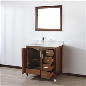 Spa Bathe 36-in JAQ Series Bathroom Vanity,JA36CC-CWM