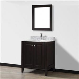 Spa Bathe 30-in Lauren Series Bathroom Vanity,LE30CH-CWM