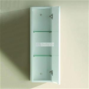 Spa Bathe Barros Series Storage Wall Mount Cabinet,MCPU8 HW