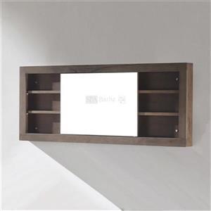 Storage Mirrored Cabinet with Sliding Door