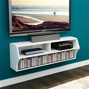 Prepac Altus Wall-Mounted Audio/Video Console,WCAW-0200-1