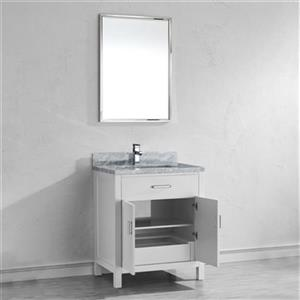 Spa Bathe Kenzie Series 30-in Vanity,KZ30Wht