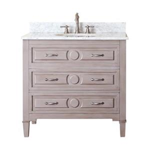 36-in Kelly Bathroom Vanity with Countertop and Sink